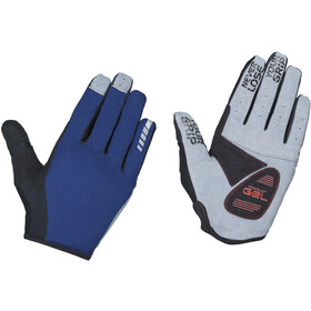 GripGrab Shark Padded Full Finger Gloves navy
